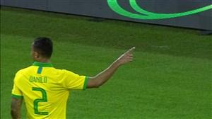 گل سوم برزیل به کره جنوبی توسط دانیلو