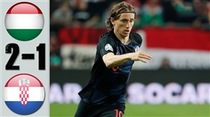 ویدئو خلاصه بازی کرواسی 2 - مجارستان 1 (دوستانه)