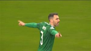 گل اول ایرلند شمالی به آلمان توسط مت اسمیت