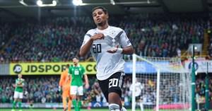 گل چهارم آلمان به ایرلند شمالی (هتریک گرنابری)