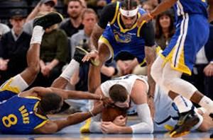 خلاصه بسکتبال ممفیس گریزلیز - گلدن استیت