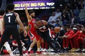 خلاصه بسکتبال نیو اورلینز - پورتلند تریل بلیزرز