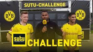 چالش فوتبالی جالب مارکو رویس و اشرف حکیمی