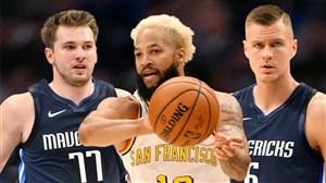 خلاصه بسکتبال دالاس ماوریکس - گلدن استیت