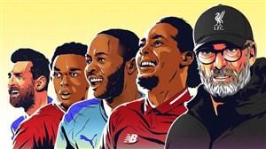 صد ستاره برتر فوتبال جهان در سال 2019