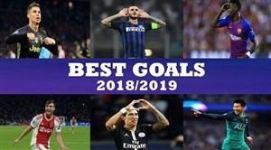 بهترین گلهای لیگ قهرمانان اروپا در فصل 19-2018