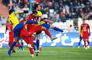 خلاصه بازی پرسپولیس 0 - نفت مسجد سلیمان 1