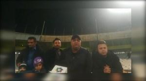 خوشحالی هواداران نفت مسجدسلیمان بعد از برد پرسپولیس