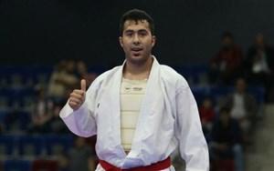 کسب مدال طلا توسط سجاد گنج زاده در لیگ جهانی کاراته