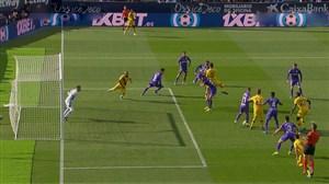گل دوم بارسلونا به لگانس توسط ویدال