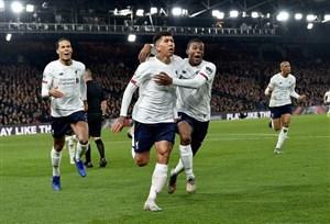 پالاس 1 - 2 لیورپول؛ تیم کلوپ قصد توقف ندارد