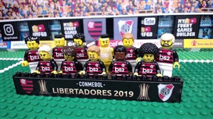 شبیه سازی فینال لیبرتادورس 2019 با لگو
