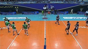 خلاصه والیبال راه یاب ملل مریوان 0 - شهرداری ورامین 3
