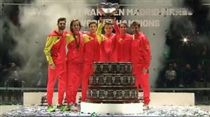اسپانیا قهرمان رقابتهای دیویس کاپ شد