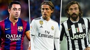 10 متخصص برتر پاس در تاریخ فوتبال دنیا