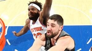 خلاصه بسکتبال بروکلین نتس - نیویورک نیکس