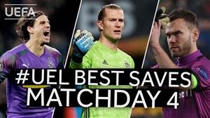 برترین سیوهای روز چهارم لیگ اروپا 20-2019