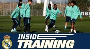 تمرین امروز تیم رئال مادرید (04-09-98)