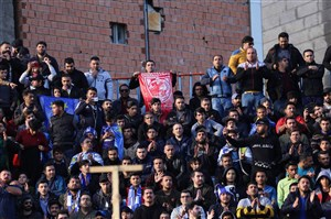 حال و هوای ورزشگاه شهید وطنی قبل از شروع بازی