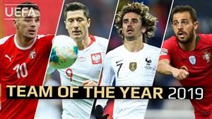 برترین بازیکنان تکنیکی سال 2019 در بازیهای ملی