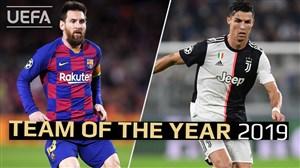 مسی و رونالدو; نامزد برترین مهاجم اروپا در سال 2019