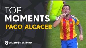برترین لحظات پاکو آلکاسر در لالیگا