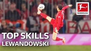 5 حرکت تکنیکی لواندفسکی در فصل 20-2019 بوندسلیگا