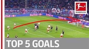 5 گل برتر هفته 12 بوندسلیگای آلمان