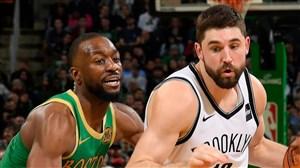 خلاصه بسکتبال بروکلین نتس - بوستون سلتیکس