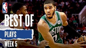 حرکت های برتر هفته پنجم بسکتبال NBA
