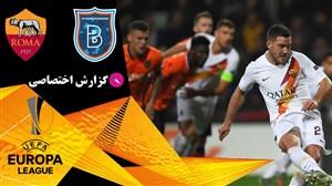 خلاصه بازی باشاک شهیر 0 - آاس رم 3