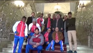 گردش تیم کشتی فرنگی کوبا در تهران