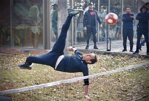 علی کریمی به فوتبال برمیگردد (گزارش تصویری)
