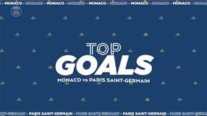 برترین گل های پاریسنژرمن برابر موناکو