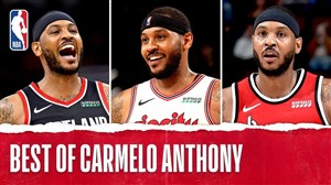 برترین لحظات کارملو آنتونی در بسکتبال NBA