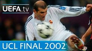 خاطره انگیز؛ قهرمانی رئال در اروپا با سوپرگل زیدان