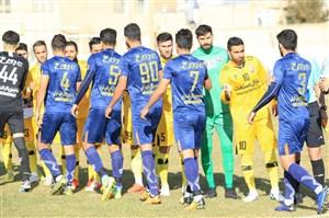 خلاصه بازی نود ارومیه 1 - استقلال خوزستان 0