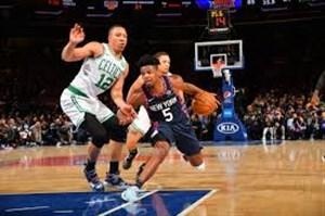خلاصه بسکتبال نیویورک نیکس - بوستون سلتیکس