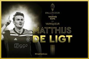 ماتیاس دلیخت بهترین بازیکن زیر 21 سال جهان 2019