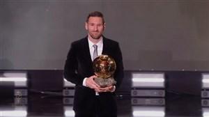 صحبتهای لیونل مسی پس از دریافت جایزه توپ طلا