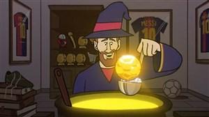 کارتون؛ جادوی لیونل مسی برای توپ طلای ششم