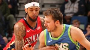 خلاصه بسکتبال نیو اورلینز پلیکانز - دالاس ماوریکس
