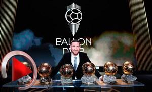 افتخارات مسی پس از کسب ششمین توپ طلا