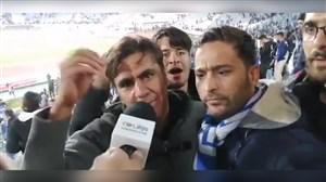 هواداران استقلال: دم همه گرم که آمدند