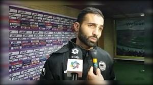 واکنش بازیکنان شاهین به تساوی در تبریز