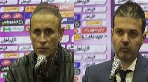 کنفرانس خبری بعد از بازی استقلال - شهرخودرو
