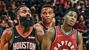 خلاصه بسکتبال تورنتو رپترز - هیوستون راکتس