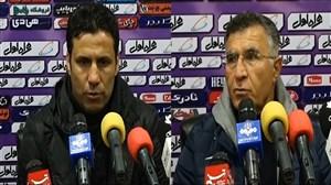 نشست خبری پس از بازی گل گهر - نفت مسجدسلیمان