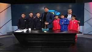 غافلگیری بیرانوند با هدیه ویژه در برنامه زنده