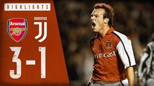 بازی خاطره انگیز آرسنال - یوونتوس در سال 2001